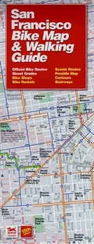 San Francisco Bike Map Walking Guide - San francisco bike map